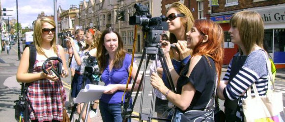 Film making with young people and community groups